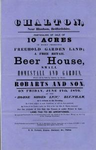 The Rose sale particulars of 1870 [GK18-3]